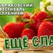 Полная программа Пятого Балаковского фестиваля клубники